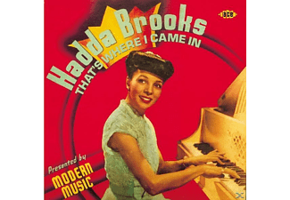 Hadda Brooks - That's Where I Came in [UK-Import] - (CD)