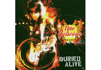 New Barbarians - Buried Alive-Live In Maryland - (CD)