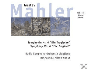 Gustav Mahler - Symphony No. 6 The Tragical - (Maxi Single CD)