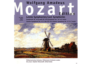 Philharmonisches Orchester, The London Philharmonic Orchestra - Wolfgang Amadeus Mozart: Letzte Symphonien - (CD)
