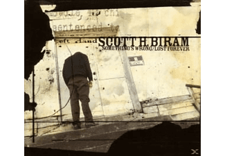 Scott H. Biram - Something's Wrong/Lost Forever - (CD)