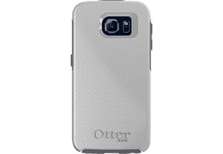 OTTERBOX 77-51366 MY SYMMETRY, Samsung, Backcover, Galaxy S6, Polyethylen, Thermoplast, Weiß