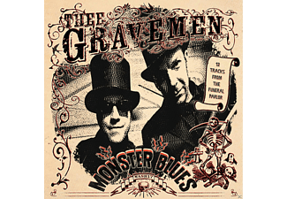 Thee Gravemen - Monster Blues (Ltd.Red Vinyl) [Vinyl]