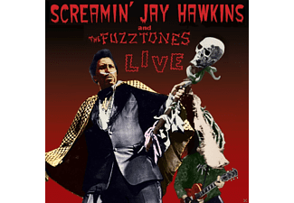 Screamin' Jay Hawkins, The Fuzztones - Live - (CD)