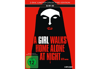 A Girl Walks Home Alone at Night - (Blu-ray + DVD)