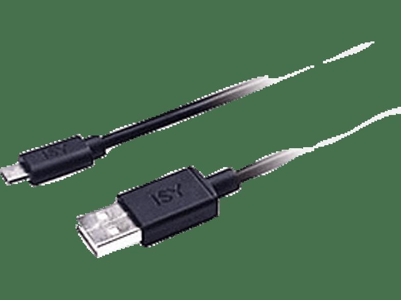 ISY Micro USB Data Cable 1.2m Black - IWC 1000 τηλεφωνία   πλοήγηση   offline αξεσουάρ κινητής smartphones   smartliving αξεσου