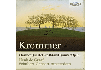 Henk De Graaf, Schubert Consort Amsterdam - Clarinet Quintets And Quartets [CD]