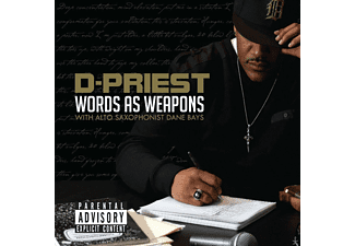 D-Priest, Dane Bays - Words As Weapons [CD]