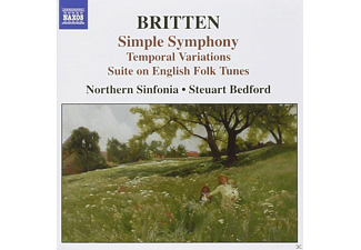 Northern Sinfonia - Simple Symphony - Suite on English Folk Tunes - (CD)