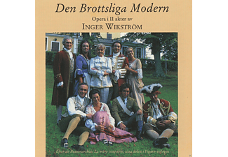 VARIOUS - Den Brottsliga Modern [CD]