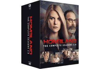Homeland S1-4 Thriller DVD