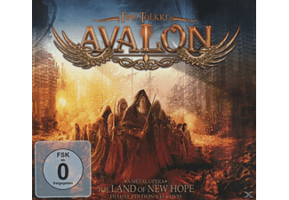 Timo Tolkki's Avalon - The Land Of New Hope (Ltd.Digipak+DVD) [CD]