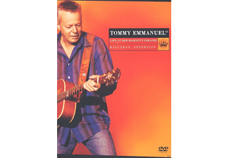 Tommy Emmanuel - Live At Her Majesty's Theatre - (DVD)