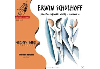 Ebony Band Amsterdam - Erwin Schulhoff Vol.2 - (CD)