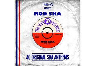 Various - Trojan Presents Mod Ska - (CD)