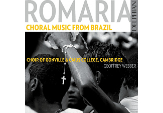 Geoffrey Webber, Choir Of Gonille, Caius College Cambridge - Romaria: Choral Music From Brazil [CD]