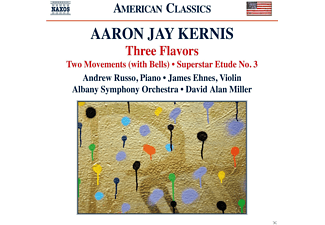 Andrew Russo, James Ehnes, Albany Symphony Orchestra - Three Flavors/Two Movements/+ - (CD)
