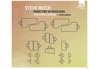 Ensemble Signal, VARIOUS - Music For 18 Musicians [CD]