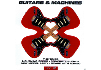 VARIOUS - Guitars & Machines  2  2cd - (CD)