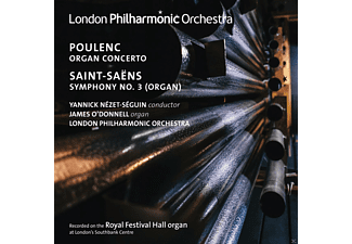 James O'Donnell, The London Philharmonic Orchestra - Poulenc: Organ Concerto / Saint Saens: Sinfony No. 3 - (CD)