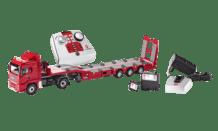 Siku MAN Zugmaschine mit Tieflader Set