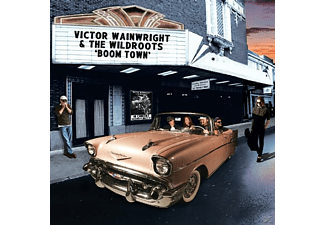 Victor Wainwright, The Wildroots - Boom Town - (CD)