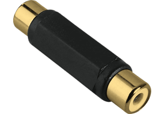 HAMA Audio Adapter, RCA socket - RCA socket, gold-plated - (123367)