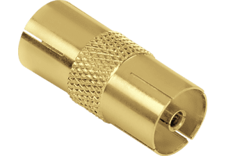HAMA Antenna Adapter, coax socket - coax socket, gold-plated - (123383)