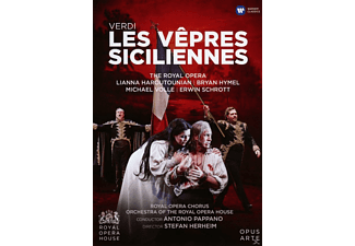 VARIOUS, Royal Opera Chorus, Orchestra Of The Royal Opera House - Les Vepres Siciliennes - (DVD)