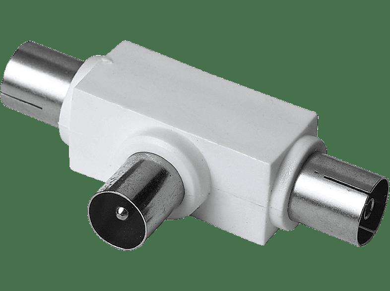 HAMA Antenna Splitter, coax plug - 2 coax sockets - (122472) εικόνα   ήχος   offline αξεσουάρ εικόνας   ήχου καλώδια κεραίας αξεσουάρ καλώδια