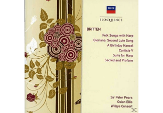 The Wilbye Consort, Pears Peter, Osian Ellis - Benjamin Britten: Songs - (CD)