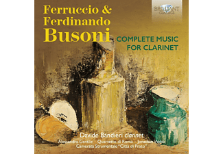 Davide Bandieri, Alessandra Gentile, Jonathan Webb - Complete Music For Clarinet [CD]