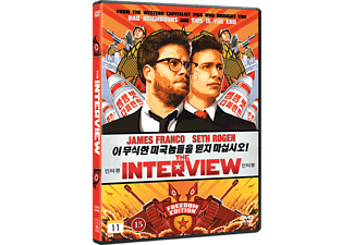 The Interview Komedi DVD