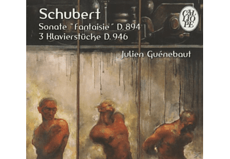 "Julien Guenebaut - Schubert: Sonate ""fantaisie""d.894 - 3 Pieces Pour Piano D.94 [CD]"