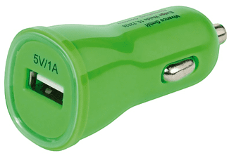 VIVANCO Kompakt USB billaddare 1A - Grön