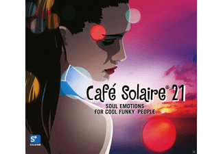 VARIOUS - Cafe Solaire 21 - (CD)