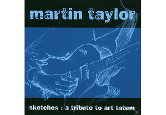 Martin Taylor - Sketches: Tribute To Art Tatum - (CD)