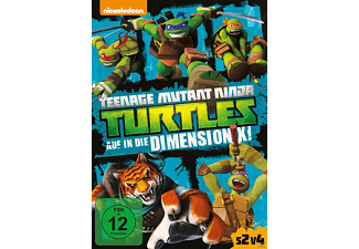 Teenage Mutant Ninja Turtles - Auf in die Dimension X! [DVD]