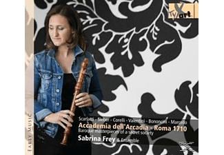 Sabrina Frey & Ensemble - Accademia Dell'arcadia-Baroque Masterpieces [CD]