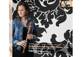 Sabrina Frey & Ensemble - Accademia Dell'arcadia-Baroque Masterpieces - (CD)