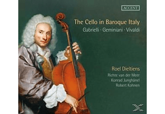 Dieltiens - The Cello In Baroque Italy [CD]