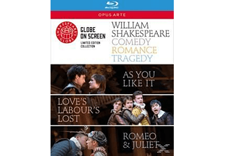 Romeo & Juliet/As You Like It/Love's Labour's Lost - (Blu-ray)