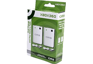 ORB Dual Charge and Play Xbox 360 2-pack