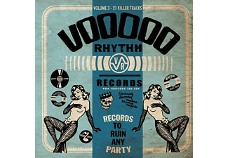 Various/A Record To Ruin Any Party - Voodoo Rhythm Compilation Vol.3 - (CD)