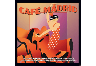 VARIOUS - Cafe Madrid - (CD)