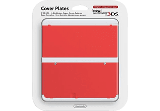 NINTENDO New 3DS Cover Plate - Röd