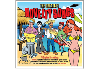 VARIOUS - Greatest Novelty Songs - (CD)