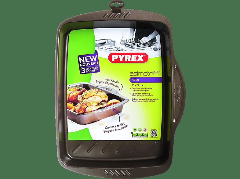 PYREX Asimetria Αντικολλητικό ορθογώνιο ταψί 35x27 cm - (322002) μικροσυσκευές   φροντίδα σκεύη κουζίνας ταψιά  φόρμες είδη σπιτιού   μικροσυσκευ