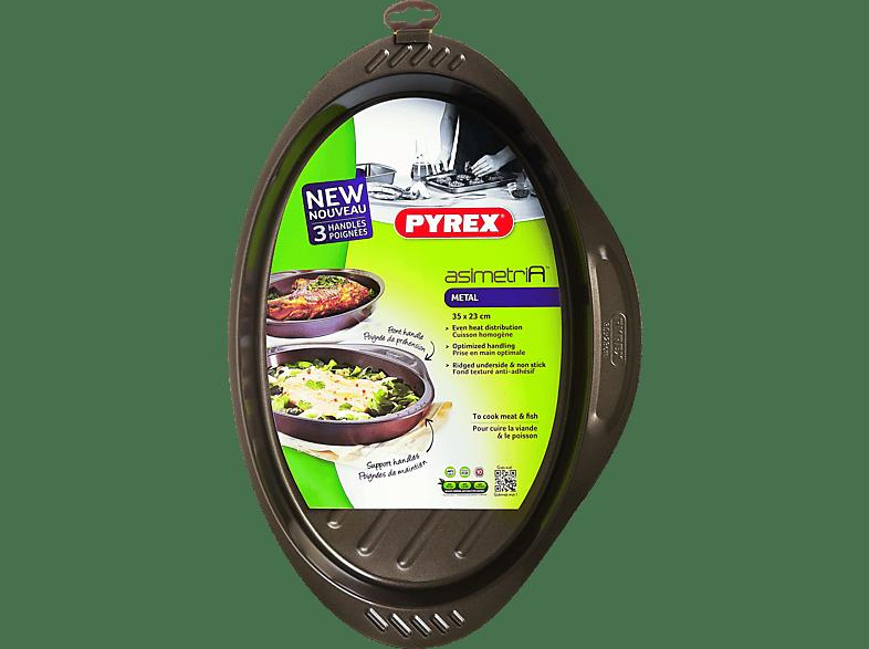 PYREX Asimetria Αντικολλητικό οβάλ ταψί 35x23 cm - (322005) μικροσυσκευές   φροντίδα σκεύη κουζίνας ταψιά  φόρμες