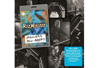 Rick Wakeman - Access All Areas [CD + DVD Video]